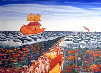 The Departure of the Israelites, Julio Breff Guilarte